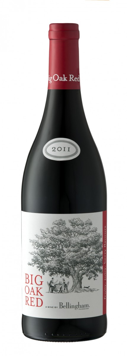 Биг Оук Ред Шираз Каберне Совиньон, ЮАР, красное сухое. Big Oak Red Shiraz Cabernet Sauvignon,Bellingham, 2011, South Africa